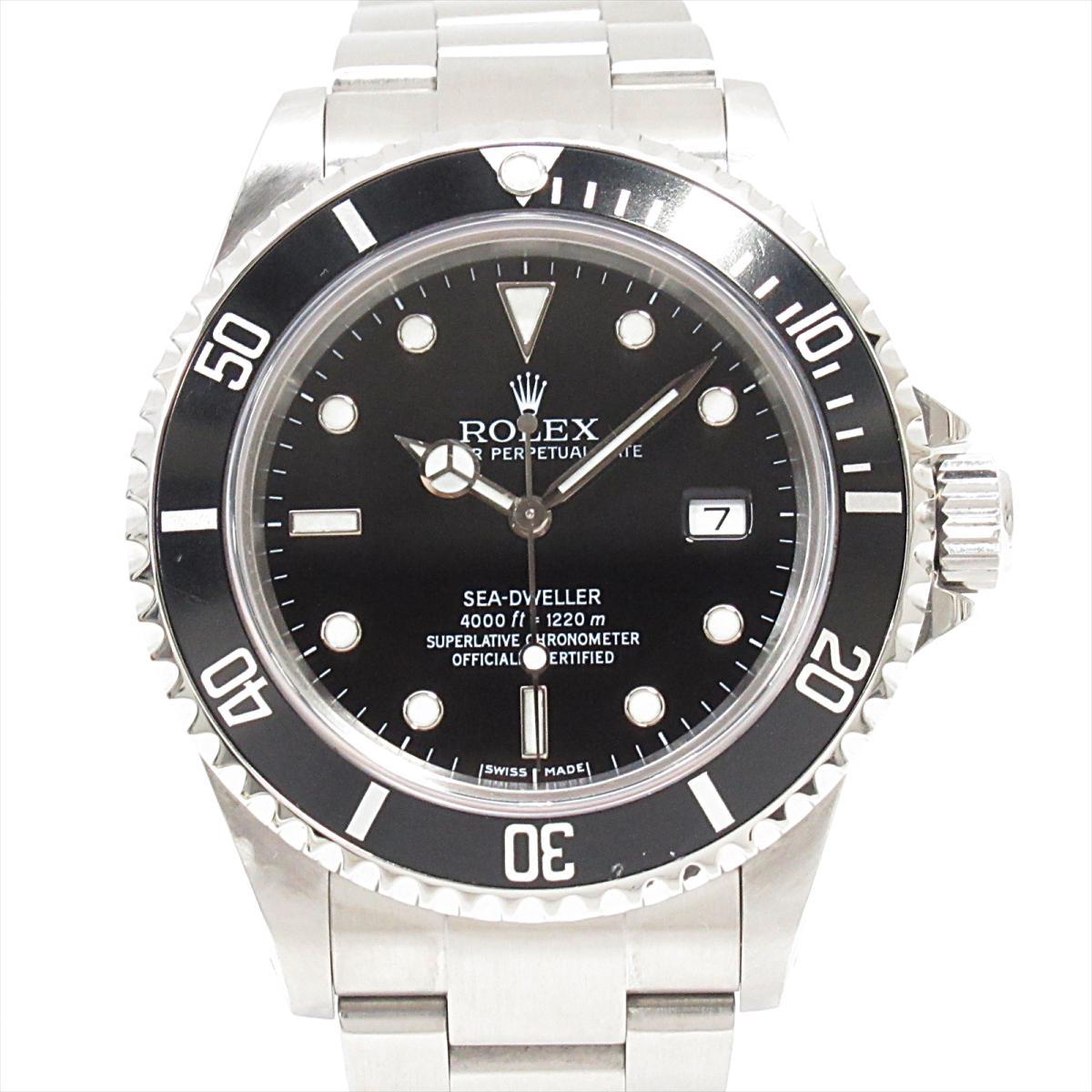 【中古】 ロレックス シードゥエラー ウォッチ 時計 メンズ ステンレススチール (SS) (16600)   ROLEX BRANDOFF ブランドオフ ブランド ブランド時計 ブランド腕時計 腕時計
