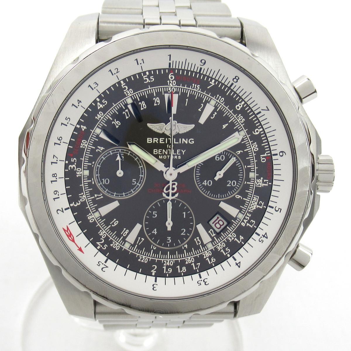 【中古】 ブライトリング ベントレー ウォッチ 腕時計 メンズ ステンレススチール (SS) (A25363)   BREITLING BRANDOFF ブランドオフ ブランド ブランド時計 ブランド腕時計 時計