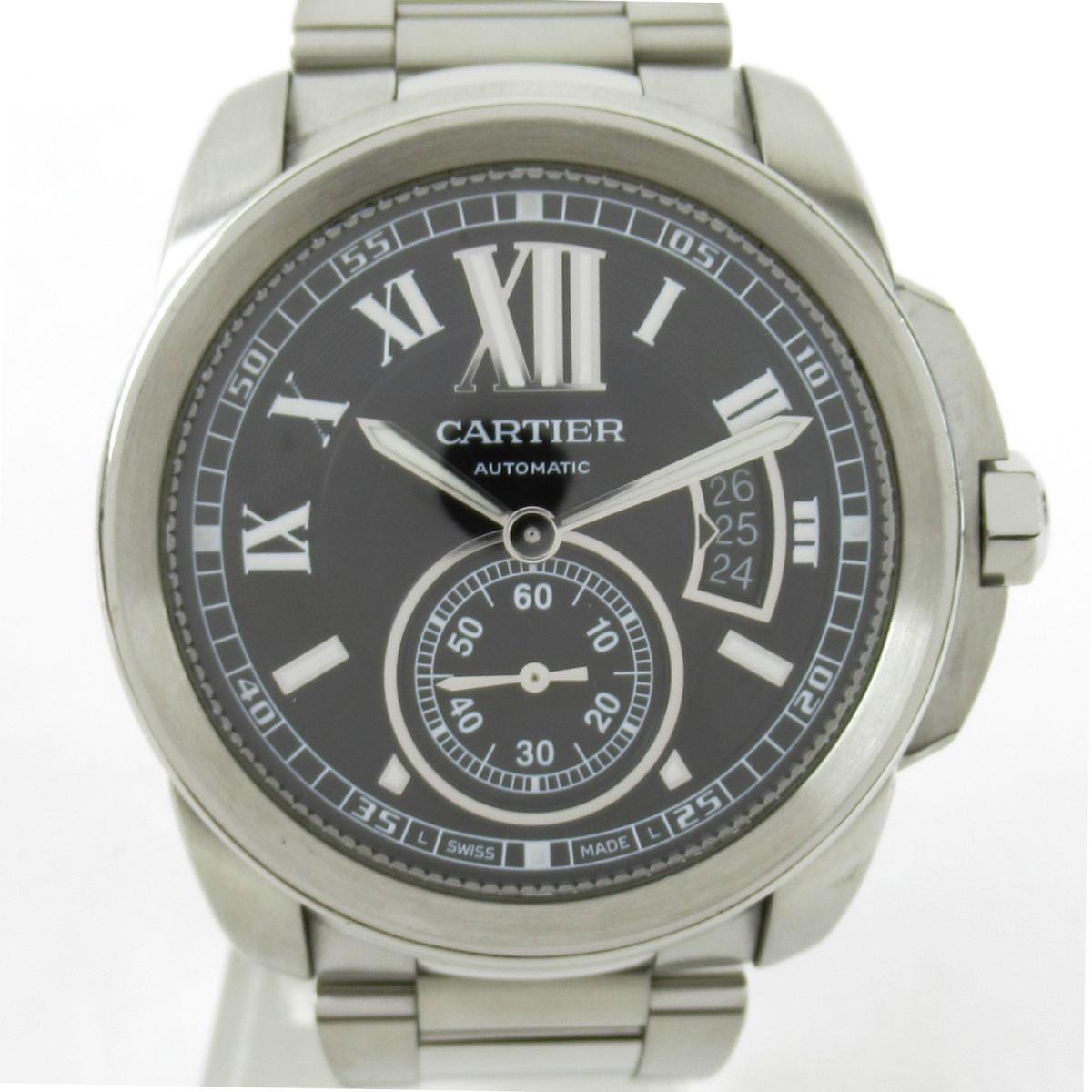 【中古】 カルティエ カリブル ドゥ カルティエ 腕時計 メンズ ステンレススチール (SS) (W7100016) | Cartier BRANDOFF ブランドオフ ブランド ブランド時計 ブランド腕時計 時計 ウォッチ