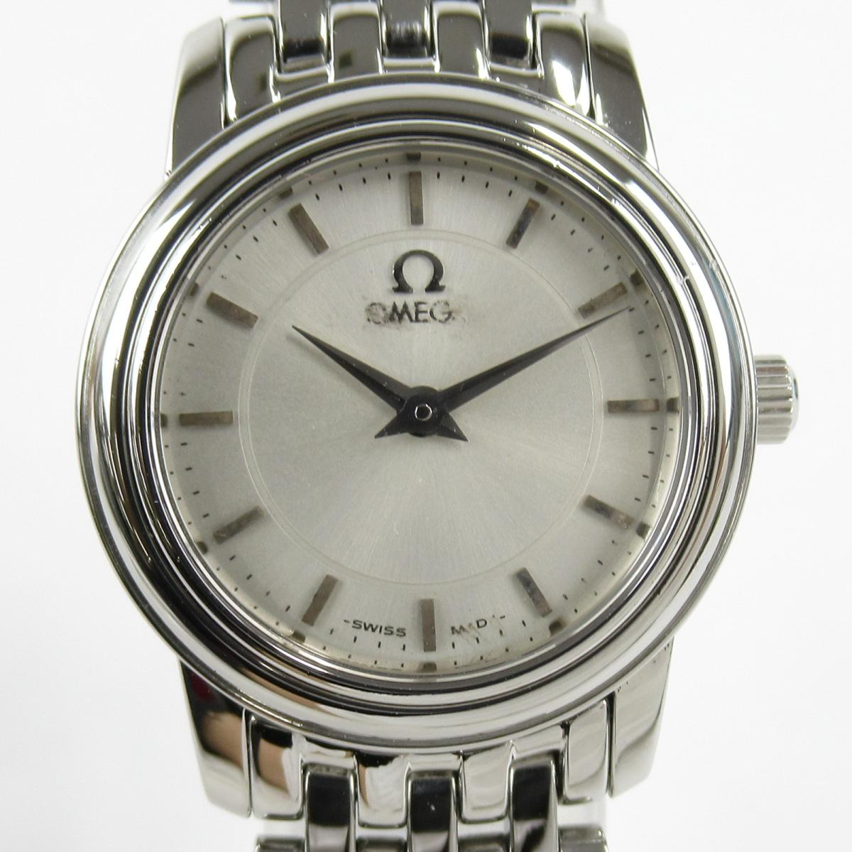 【中古】 オメガ デ・ビル プレステージ 腕時計 レディース ステンレススチール (SS) (4570.31) | OMEGA BRANDOFF ブランドオフ ブランド ブランド時計 ブランド腕時計 時計 ウォッチ