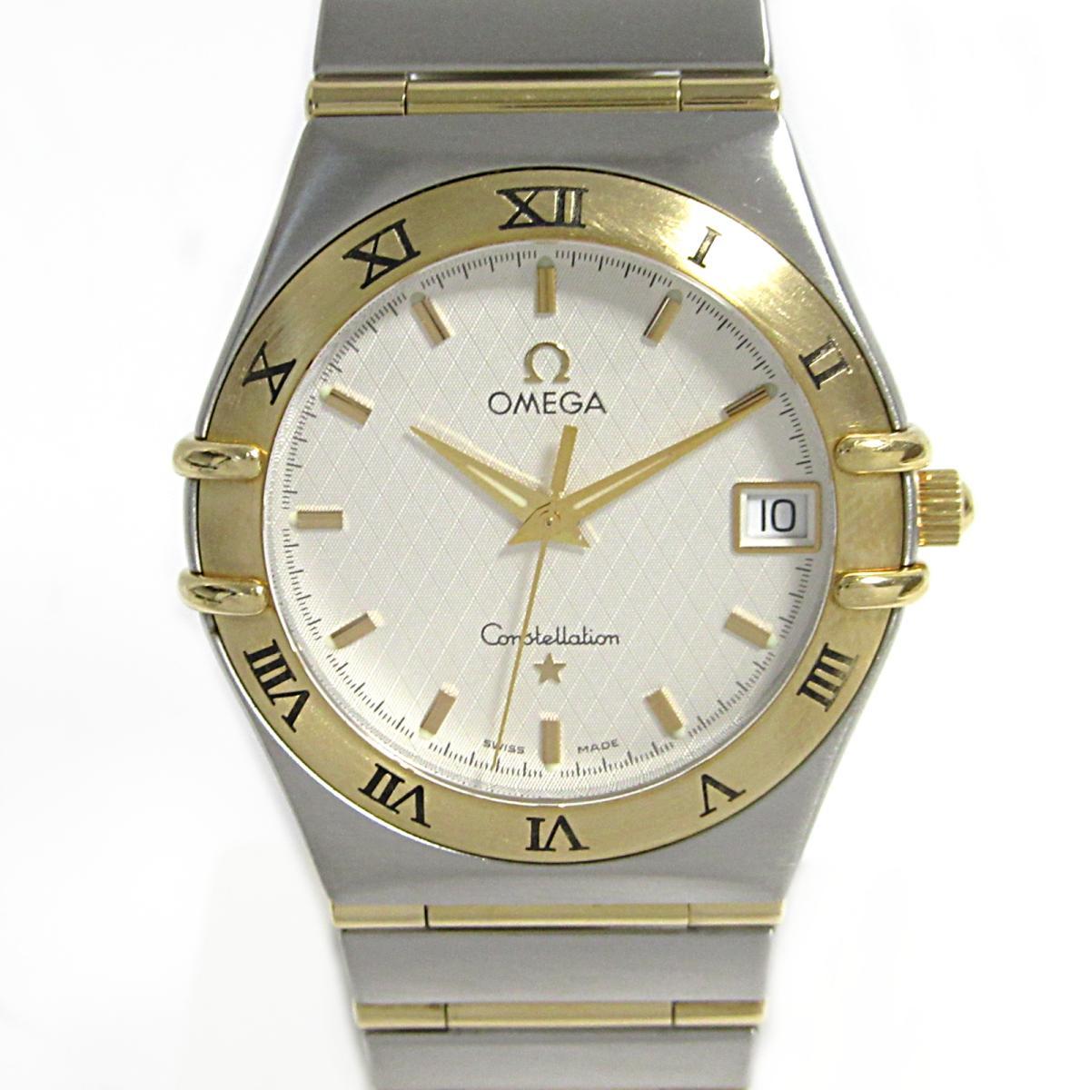 ≪期間限定≫メルマガ登録でクーポンGET! 【中古】オメガ コンステレーション 腕時計 メンズ ステンレススチール (SS) K18YG (750)イエローゴールド | OMEGA BRANDOFF ブランドオフ ブランド ブランド時計 ブランド腕時計 時計 ウォッチ