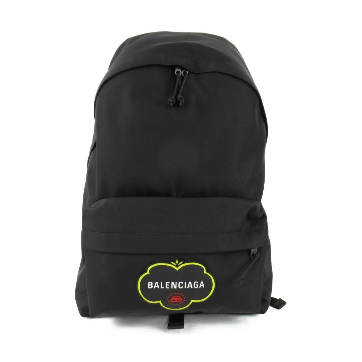 バレンシアガ E PLORER BACKPACK リュックサック バックパック メンズ レディース ナイロン ブラック (5032219WBG51000) | BALENCIAGA BRANDOFF ブランドオフ ブランド ブランドバッグ かばん バッグ バック リュック
