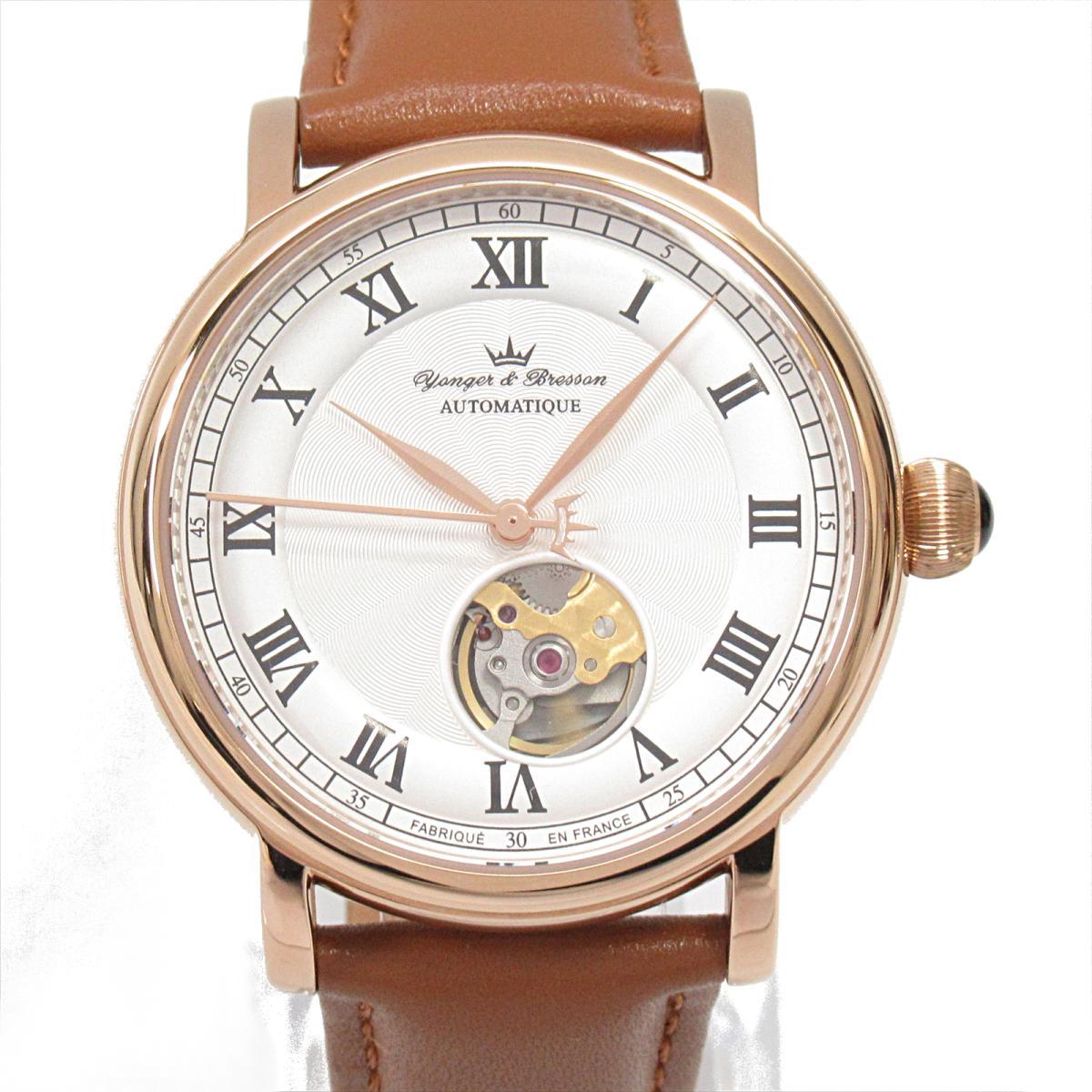 【中古】セレクション Yonger&Bresson 腕時計 ウォッチ メンズ ステンレススチール (SS)レザーベルト (YBH8569)   SELECTION BRANDOFF ブランドオフ ブランド ブランド時計 ブランド腕時計 時計
