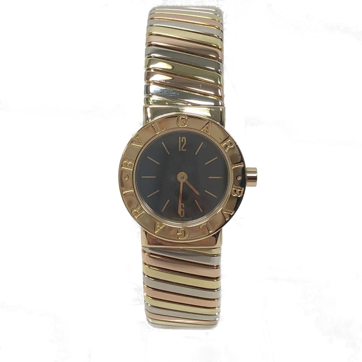 【中古】ブルガリ ブルガリ トゥボガス 腕時計 レディース K18YG (750)イエローゴールドイエローゴールド ピンクゴールド ホワイトゴールド (BB232T) | BVLGARI BRANDOFF ブランドオフ ブランド ブランド時計 ブランド腕時計 時計