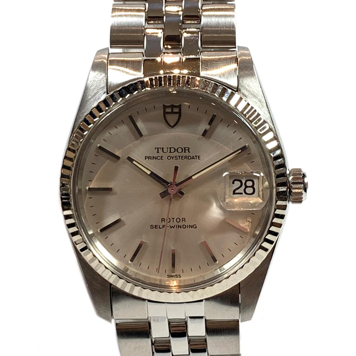 【中古】 チュードル プリンスオイスターデイト 腕時計 ウォッチ メンズ ステンレススチール (SS) シルバー | TUDOR BRANDOFF ブランドオフ ブランド ブランド時計 ブランド腕時計 時計