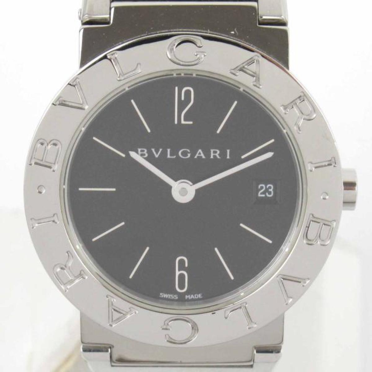 【中古】 ブルガリ ウォッチ 腕時計 レディース ステンレススチール (SS) (BB26SS) | BVLGARI BRANDOFF ブランドオフ ブランド ブランド時計 ブランド腕時計 時計
