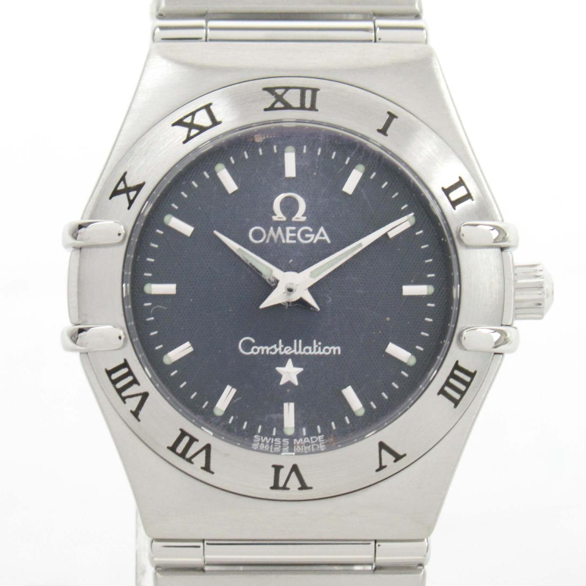【中古】 オメガ コンステレーション ウォッチ 腕時計 レディース ステンレススチール (SS)   OMEGA BRANDOFF ブランドオフ ブランド ブランド時計 ブランド腕時計 時計