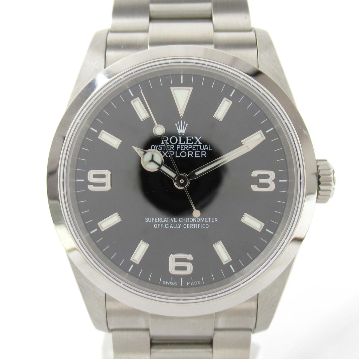 【中古】 ロレックス エクスプローラー? ウォッチ 腕時計 メンズ ステンレススチール (SS) (114270 Z番) | ROLEX BRANDOFF ブランドオフ ブランド ブランド時計 ブランド腕時計 時計
