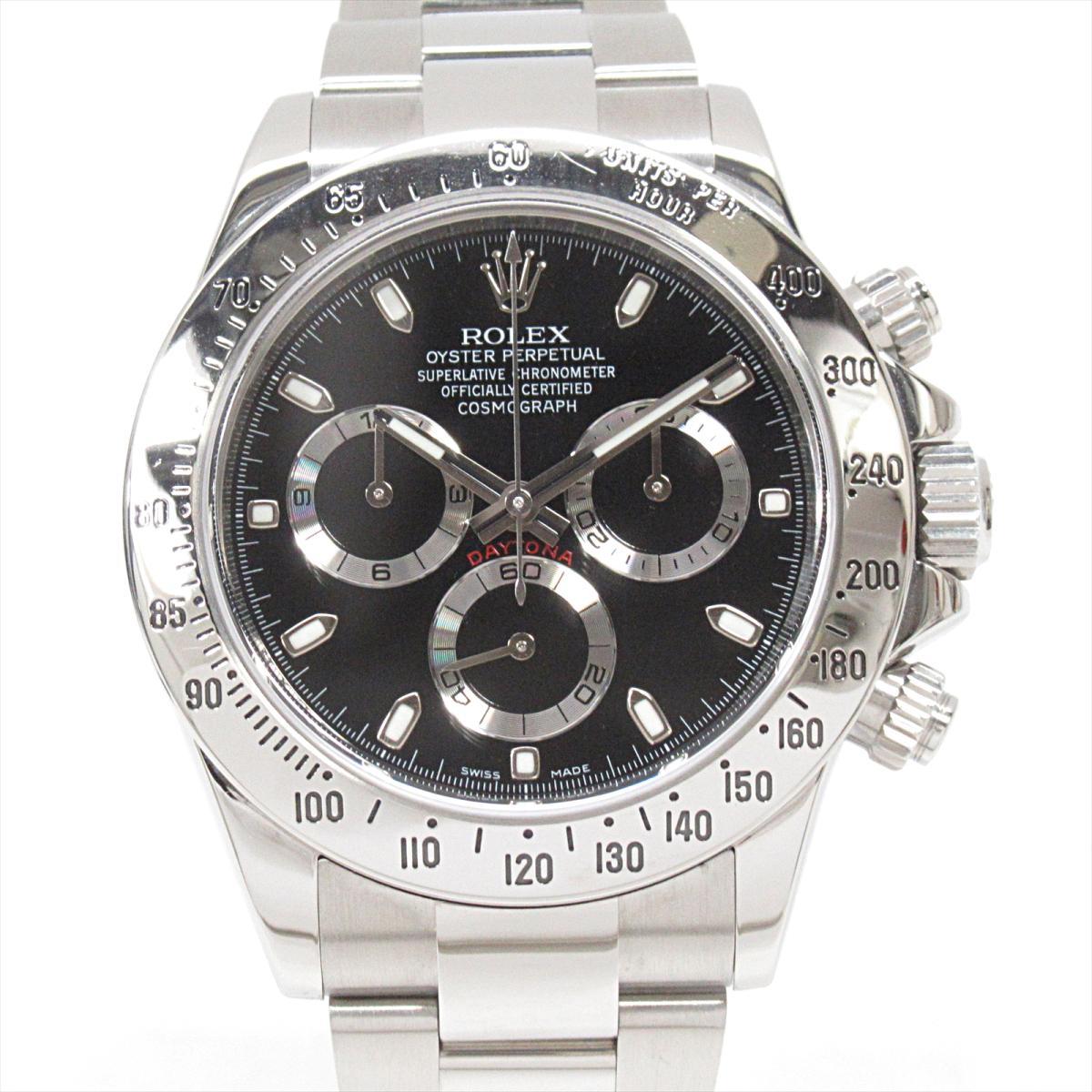 【中古】 ロレックス デイトナ 腕時計 ウォッチ メンズ ステンレススチール (SS) (116520)   ROLEX BRANDOFF ブランドオフ ブランド ブランド時計 ブランド腕時計 時計