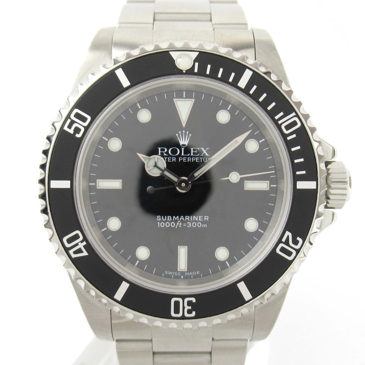 【中古】 ロレックス サブマリーナ・ノンデイト ウォッチ 腕時計 メンズ ステンレススチール (SS) (14060M P番) | ROLEX BRANDOFF ブランドオフ ブランド ブランド時計 ブランド腕時計 時計
