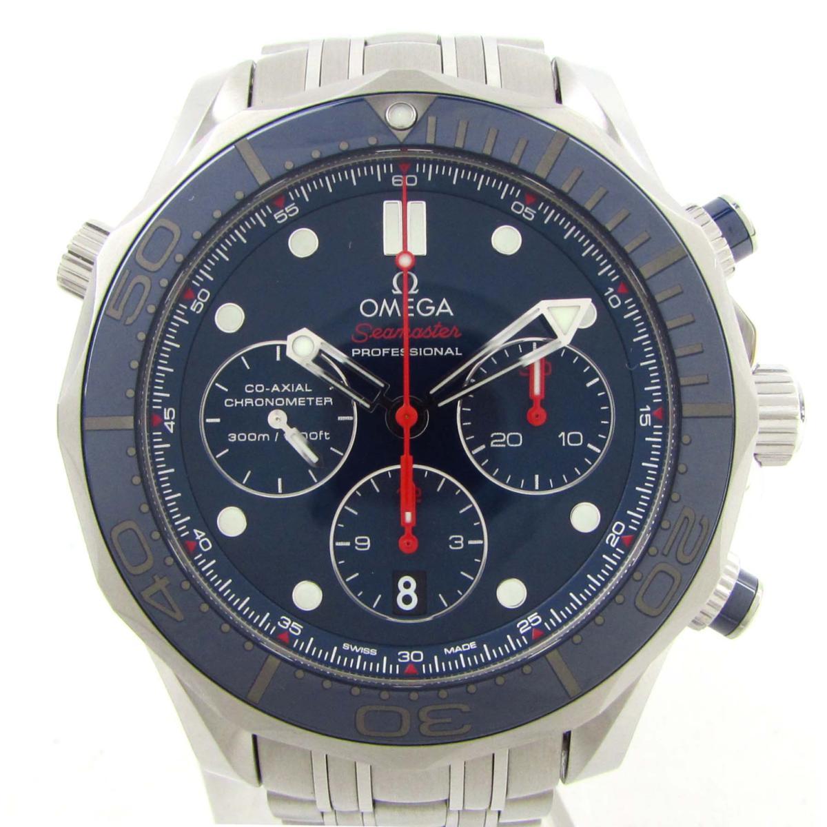 【中古】 オメガ シーマスターダイバー ウォッチ 腕時計 メンズ ステンレススチール (SS) (212.30.44.50.03.001) | OMEGA BRANDOFF ブランドオフ ブランド ブランド時計 ブランド腕時計 時計
