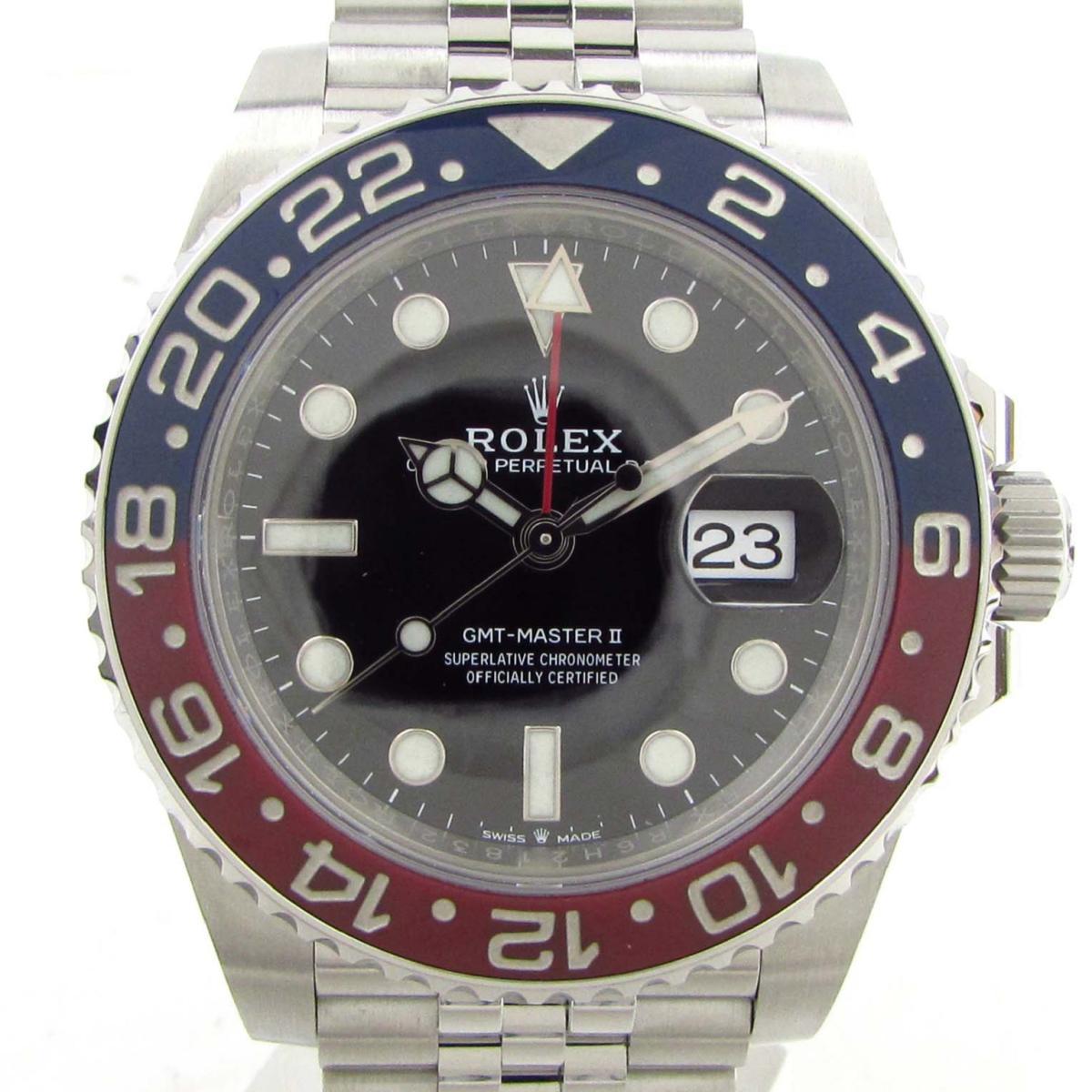 【中古】 ロレックス GMTマスター? ウォッチ 腕時計 メンズ ステンレススチール (SS) (126710BLRO ランダム番) | ROLEX BRANDOFF ブランドオフ ブランド ブランド時計 ブランド腕時計 時計