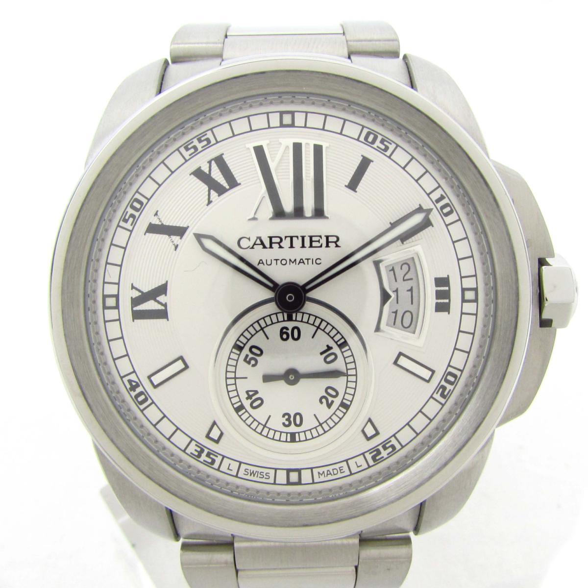 【中古】 カルティエ カリブル ドゥ ウォッチ 腕時計 メンズ ステンレススチール (SS) (W7100015) | Cartier BRANDOFF ブランドオフ ブランド ブランド時計 ブランド腕時計 時計