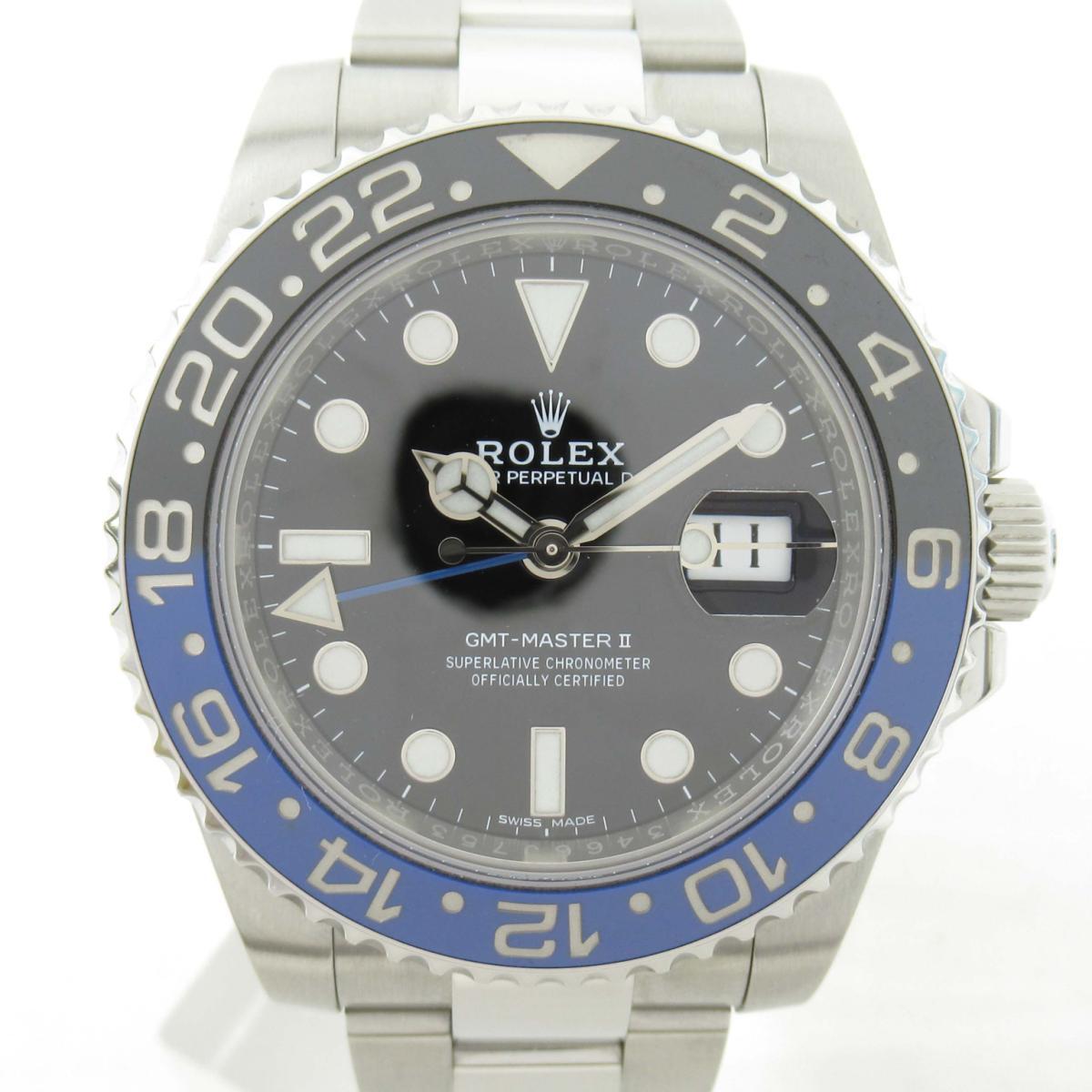 【中古】 ロレックス GMTマスター? ウォッチ 腕時計 メンズ ステンレススチール (SS) (116710BLNR ランダム番)   ROLEX BRANDOFF ブランドオフ ブランド ブランド時計 ブランド腕時計 時計