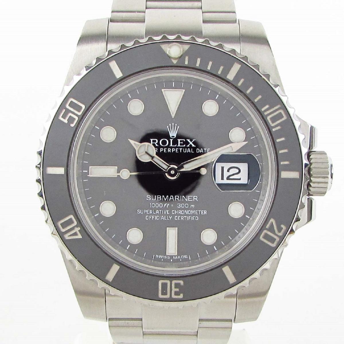 【中古】 ロレックス サブマリーナ ウォッチ 腕時計 メンズ ステンレススチール (SS) (116610LN ランダム番) | ROLEX BRANDOFF ブランドオフ ブランド ブランド時計 ブランド腕時計 時計