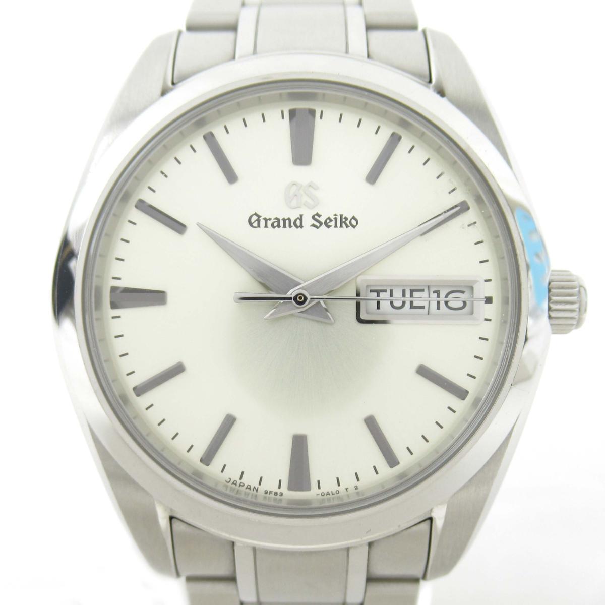【中古】 セイコー グランドセイコー ウォッチ 腕時計 メンズ ステンレススチール (SS) (9F83-0AH0/SBGT235) | SEIKO BRANDOFF ブランドオフ ブランド ブランド時計 ブランド腕時計 時計