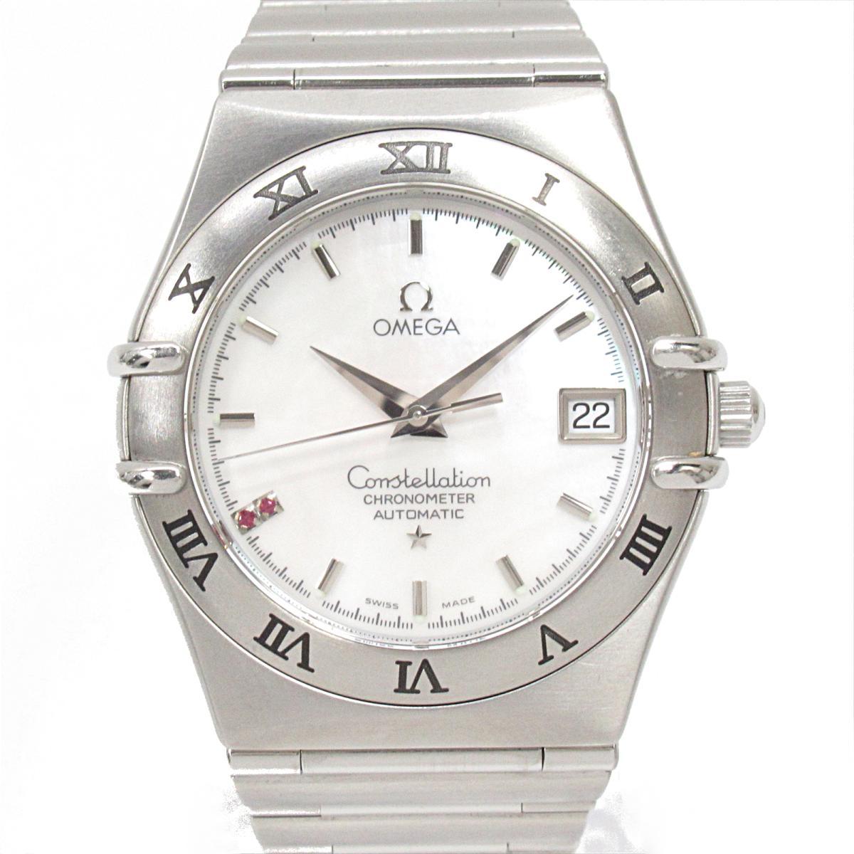 【中古】 オメガ コンステレーション 2Pルビー ウォッチ 腕時計 メンズ ステンレススチール (SS) (1516.76) | OMEGA BRANDOFF ブランドオフ ブランド ブランド時計 ブランド腕時計 時計