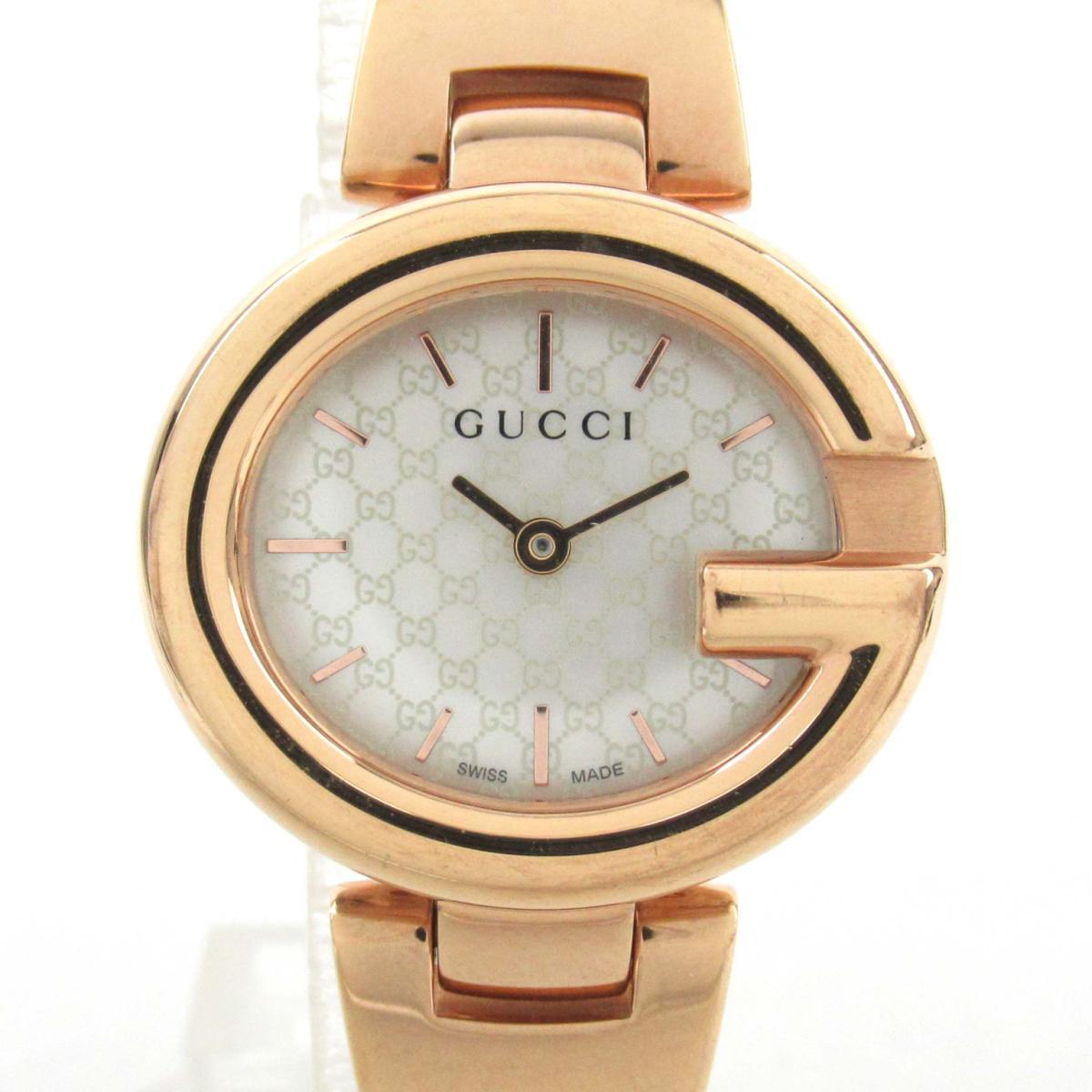 【中古】 グッチ 腕時計 ウォッチ レディース ステンレススチール (SS) (134.5)   GUCCI BRANDOFF ブランドオフ ブランド ブランド時計 ブランド腕時計 時計