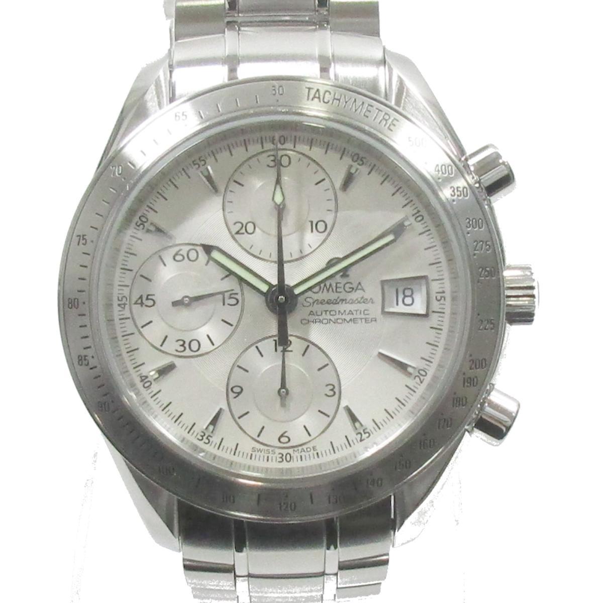 【中古】 オメガ スピードマスター デイト クロノメータ 腕時計 ウォッチ メンズ ステンレススチール (SS) シルバー (3210.30) | OMEGA BRANDOFF ブランドオフ ブランド ブランド時計 ブランド腕時計 時計