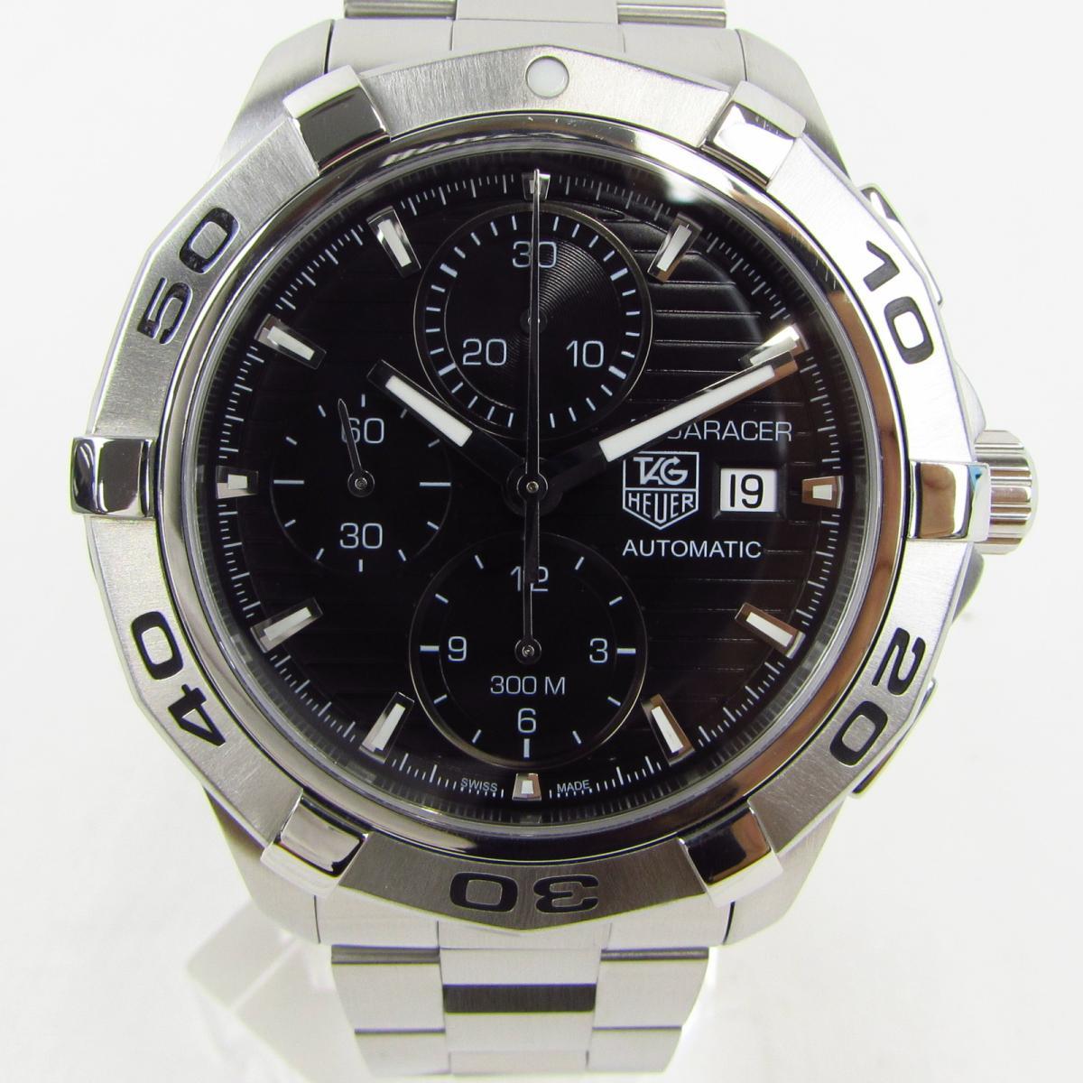 【中古】 タグ・ホイヤー アクアレーサー クロノグラフ ウォッチ 腕時計 メンズ ステンレススチール (SS) (CAP2110) | TAG HEUER BRANDOFF ブランドオフ ブランド ブランド時計 ブランド腕時計 時計