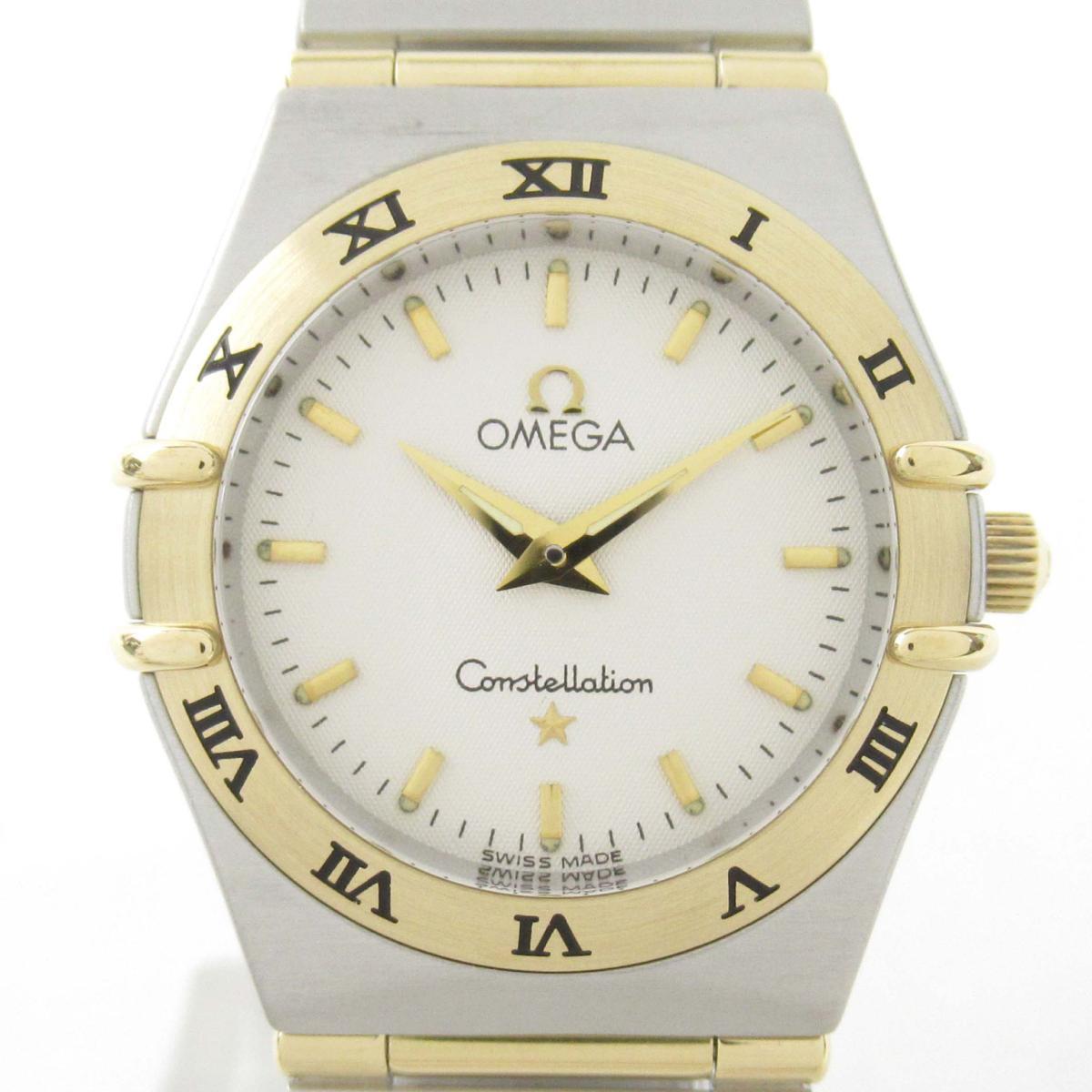 【中古】 オメガ コンステレーション ウォッチ 腕時計 レディース 18Kイエローゴールド x ステンレススチール (SS) | OMEGA BRANDOFF ブランドオフ ブランド ブランド時計 ブランド腕時計 時計