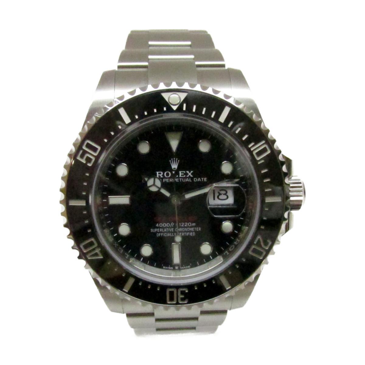 【中古】 ロレックス シードゥエラー 腕時計 ウォッチ メンズ ステンレススチール (SS) シルバー x ブラック (126600) | ROLEX BRANDOFF ブランドオフ ブランド ブランド時計 ブランド腕時計 時計