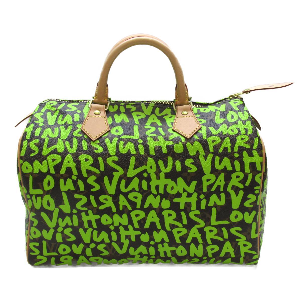 ルイヴィトン スピーディ30 ハンドバッグ バッグ レディース モノグラムグラフィティ ヴェールxブラウン (M93706) 【中古】 | ブランド