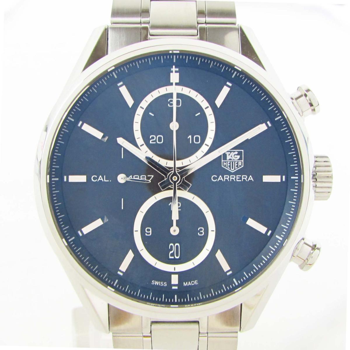 【中古】 タグ・ホイヤー カレラクロノグラフ キャリバー1887 ウォッチ 腕時計 メンズ ステンレススチール (SS) (CAR2110-0) | TAG HEUER BRANDOFF ブランドオフ ブランド ブランド時計 ブランド腕時計 時計
