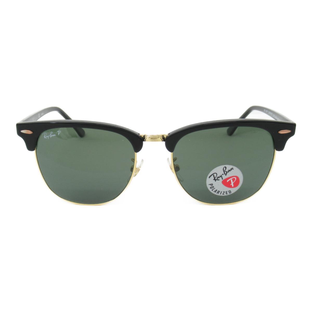 レイバン サングラス ウェリントン メンズ レディース レンズ;ガラス/フレーム:ニッケル合金/テンプル:プラスチック ブラック x ゴールド グレイグリーン (3016F 901/58 (55))   Ray Ban BRANDOFF ブランドオフ