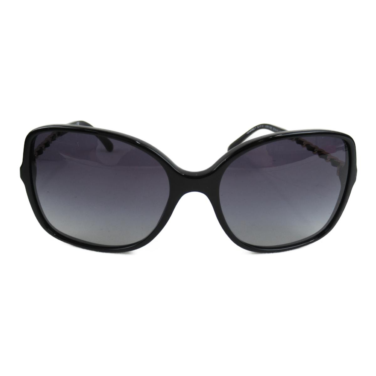 シャネル サングラス レディース プラスチック x メタル ブラック (5210Q 501/3C) | CHANEL BRANDOFF ブランドオフ ブランド ブランド雑貨 小物 雑貨 眼鏡 メガネ めがね