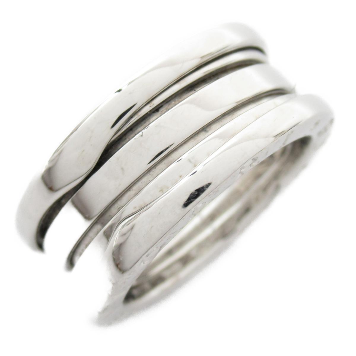【中古】 ブルガリ B-zero1 リング Sサイズ ビーゼロワン 指輪 メンズ レディース K18WG (750) ホワイトゴールド (323529) | BVLGARI BRANDOFF ブランドオフ ブランド ジュエリー アクセサリー