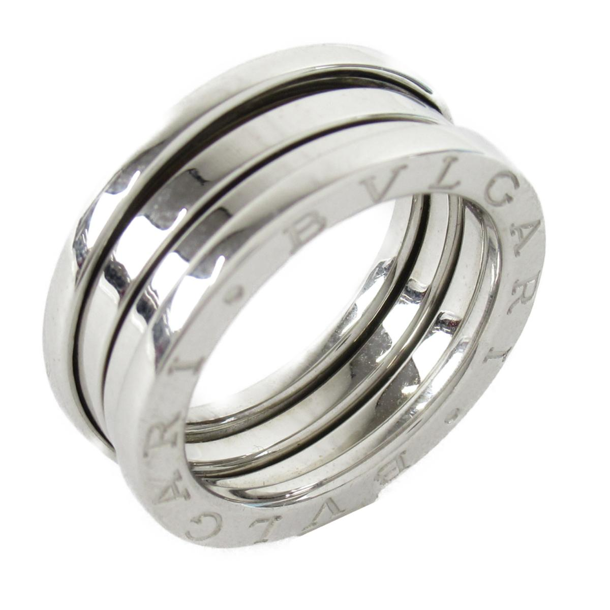 【中古】 ブルガリ B-zero1 ビーゼロワン リング 指輪 メンズ レディース K18WG (750) ホワイトゴールド | BVLGARI BRANDOFF ブランドオフ ブランド ジュエリー アクセサリー