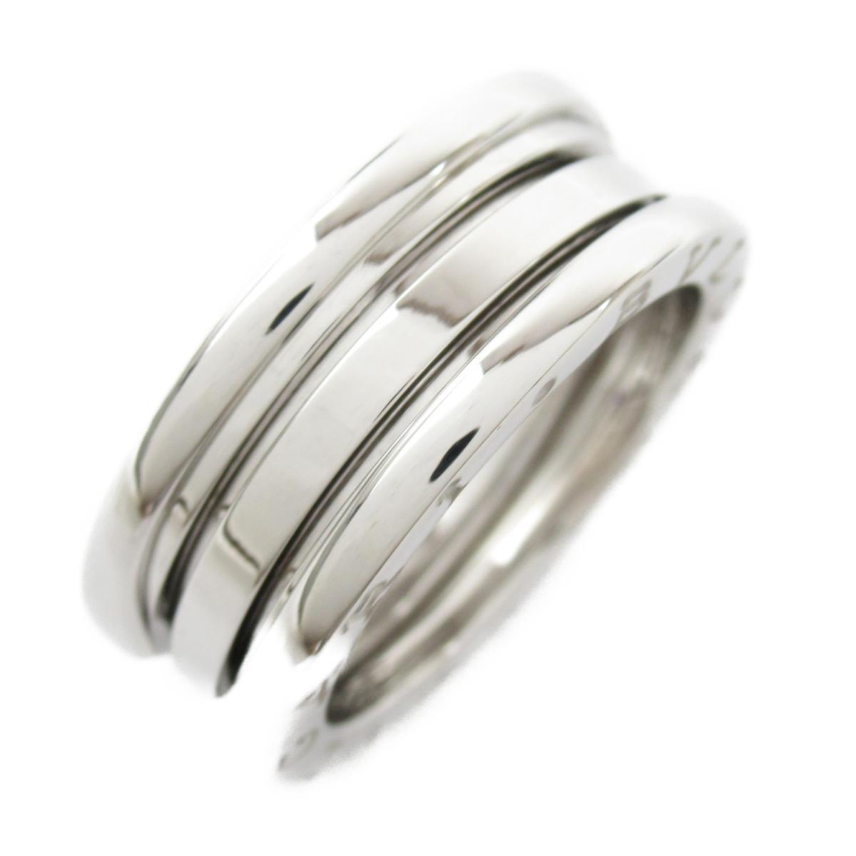 【中古】 ブルガリ B-zero1 リング Sサイズ ビーゼロワン 指輪 レディース K18WG (750) ホワイトゴールド (323529) | BVLGARI BRANDOFF ブランドオフ ブランド ジュエリー アクセサリー