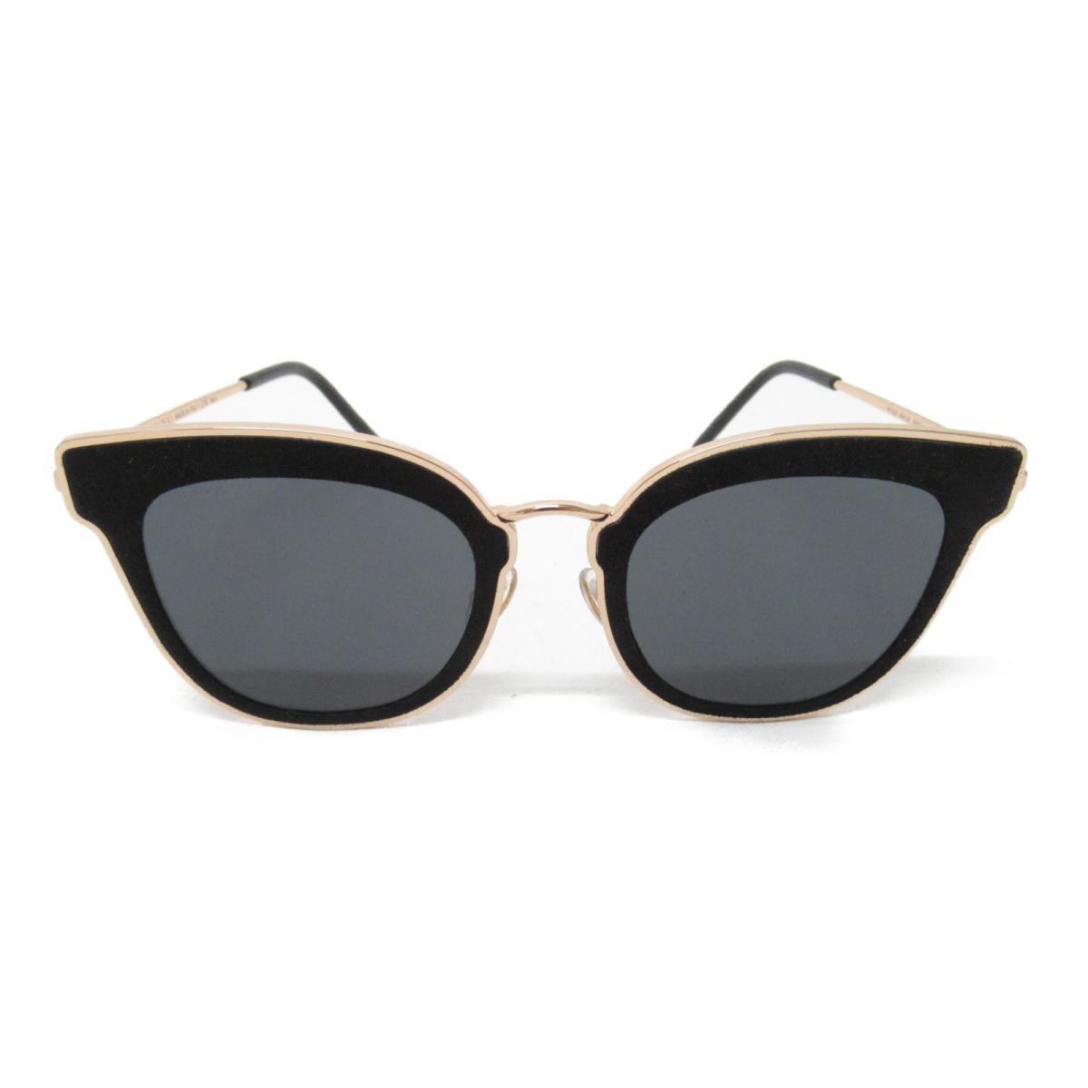 ジミーチュウ サングラス メンズ レディース レンズ;プラスチック フレーム・テンプル:ニッケル合金 ゴールド ブラック グレー (NILE RHL 2K) | JIMMY CHOO BRANDOFF ブランドオフ ブランド 眼鏡 メガネ めがね