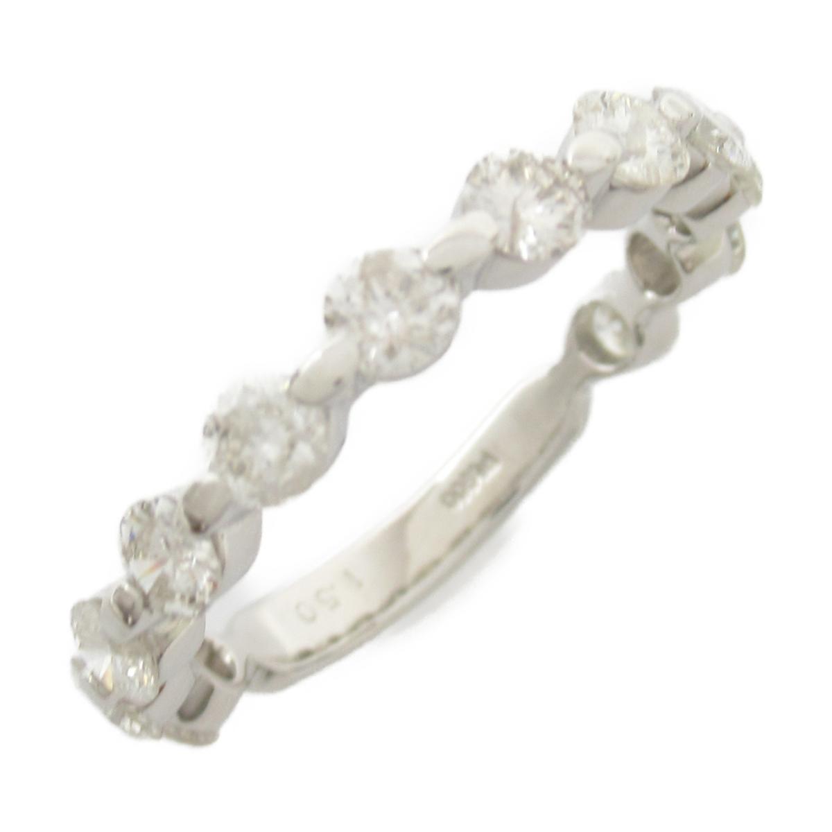 【中古】ジュエリー ダイヤモンド リング 指輪 レディース PT900 プラチナ x ダイヤモンド1.50CT
