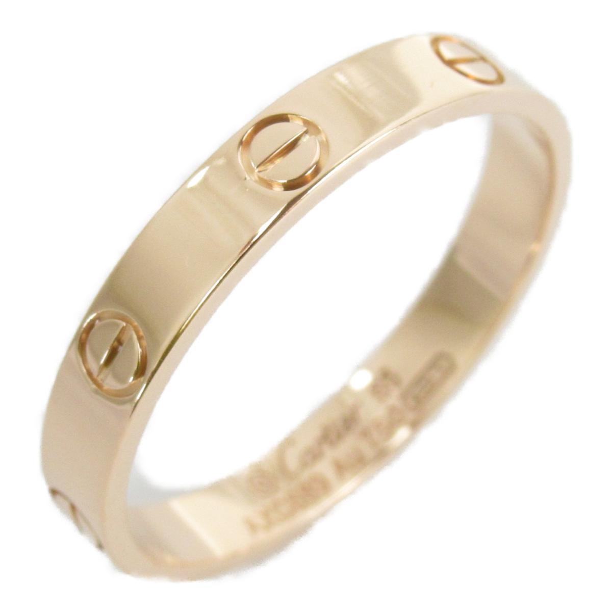 絶妙なデザイン 【 ブランド】 カルティエ ミニラブリング (750) 指輪 レディース メンズ レディース K18PG (750) ピンクゴールド | Cartier BRANDOFF ブランドオフ 宝石 ブランド ジュエリー アクセサリー リング, サウスコースト:130596b9 --- easassoinfo.bsagroup.fr