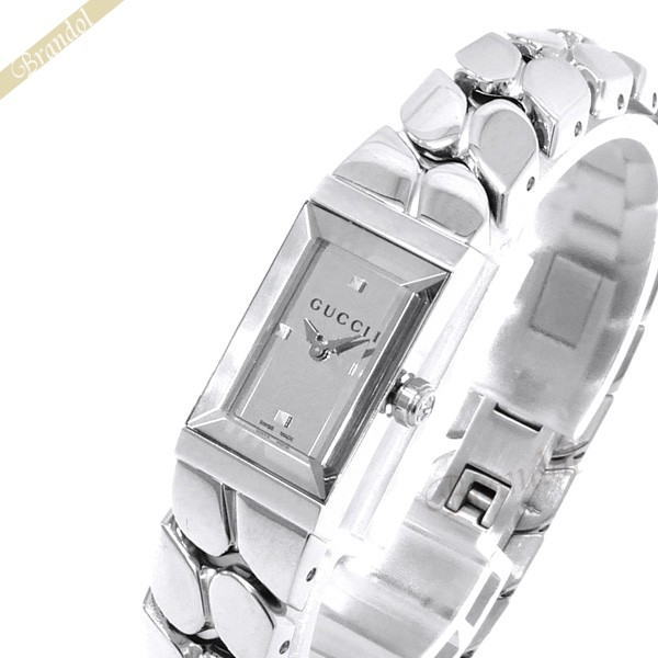 《1000円OFFクーポン対象_5月18日9:59迄》グッチ GUCCI レディース腕時計 Gフレーム G-Frame シルバー YA147501 | ブランド