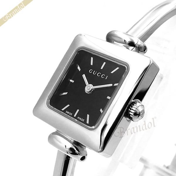 《1000円OFFクーポン対象_5月18日9:59迄》グッチ GUCCI レディース腕時計 1900 20mm ブラック YA019517 | ブランド