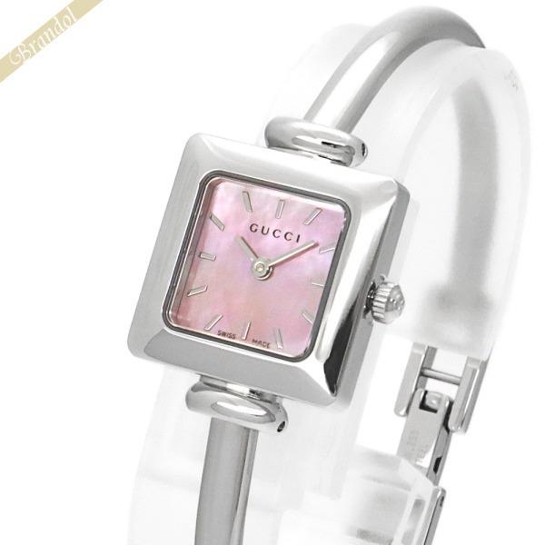 《1500円OFFクーポン対象 12月2日24時迄》グッチ GUCCI レディース腕時計 1900 20mm ピンクパール YA019519 | ブランド