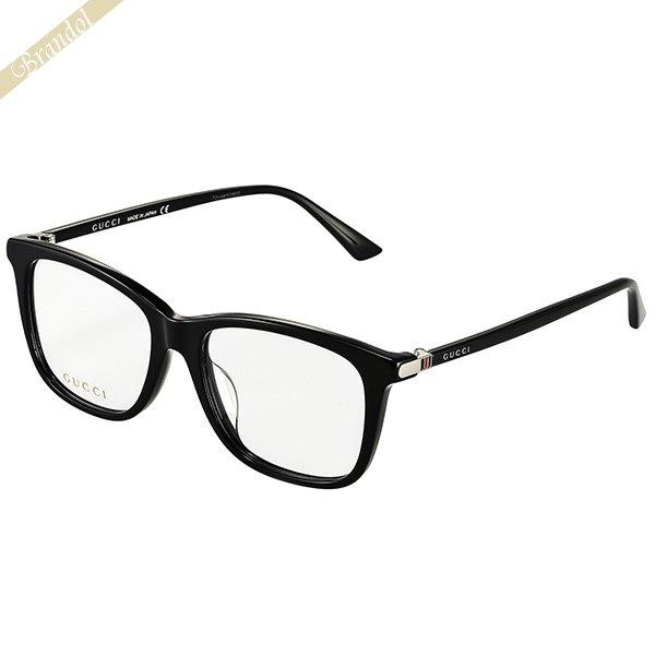 グッチ GUCCI メンズ メガネフレーム ウェリントン型 セルフレーム ブラック GG0018OA-001 | 2019年春夏新作 コンビニ受取 ブランド