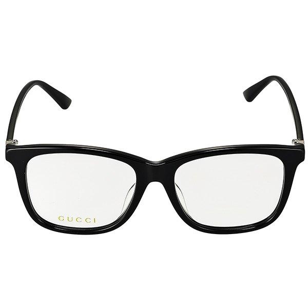 グッチ GUCCI メンズ メガネフレーム ウェリントン型 セルフレーム ブラック GG0018OA 0012019年春夏新作 コンビニ受取 ブランドdCrtxshQ