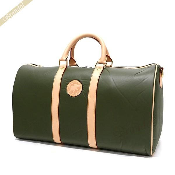 ハンティングワールド メンズ ボストンバッグ 48cm BATTUE ORIGIN GREEN グリーン 1073 10A