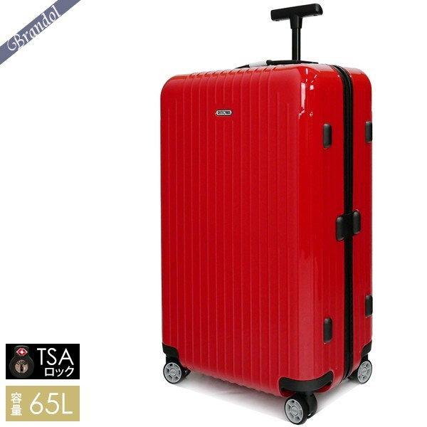 リモワ スーツケース SALSA AIR サルサ エアー TSAロック対応 縦型 65L レッド 820.63.46.4