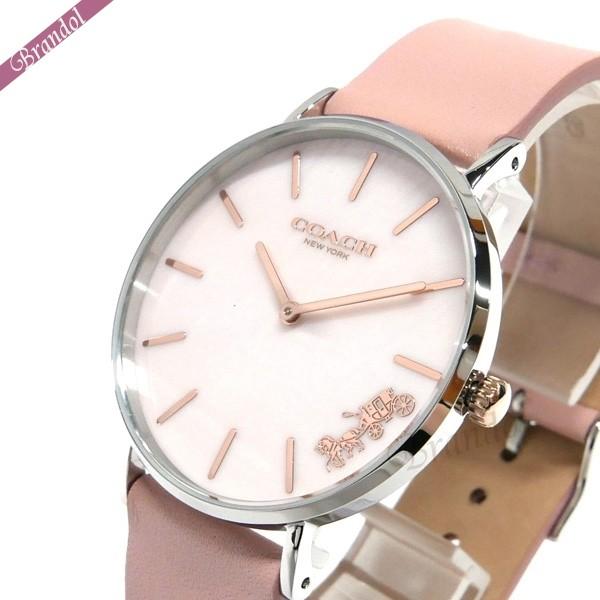 コーチ レディース腕時計 Perry ペリー 36mm ピンクパール 14503244 【xcp2】