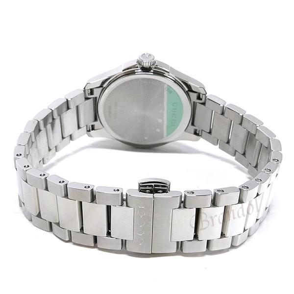 《800円offクーポン対象商品 5/26 23:59まで》グッチ レディース腕時計 Gタイムレス G-Timeless 27mm ホワイト×シルバー YA126523