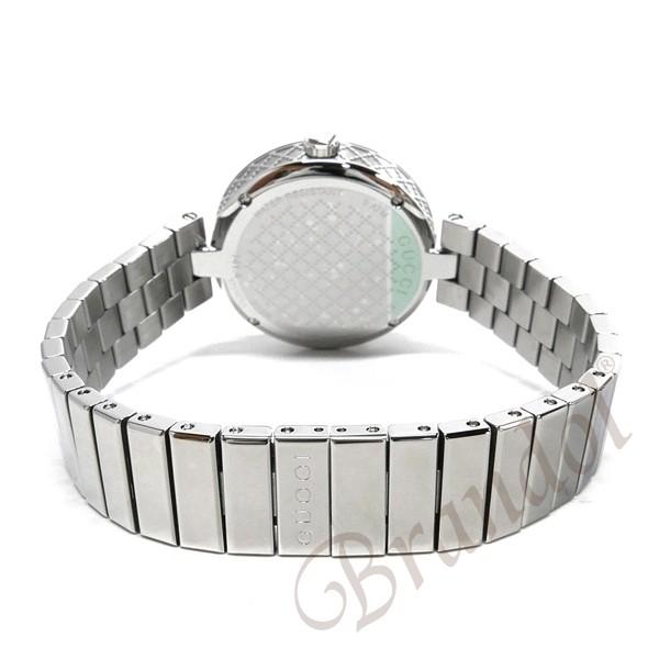 グッチ レディース腕時計 ディアマンティッシマ Diamantissima 32mm ホワイト×シルバー YA141402