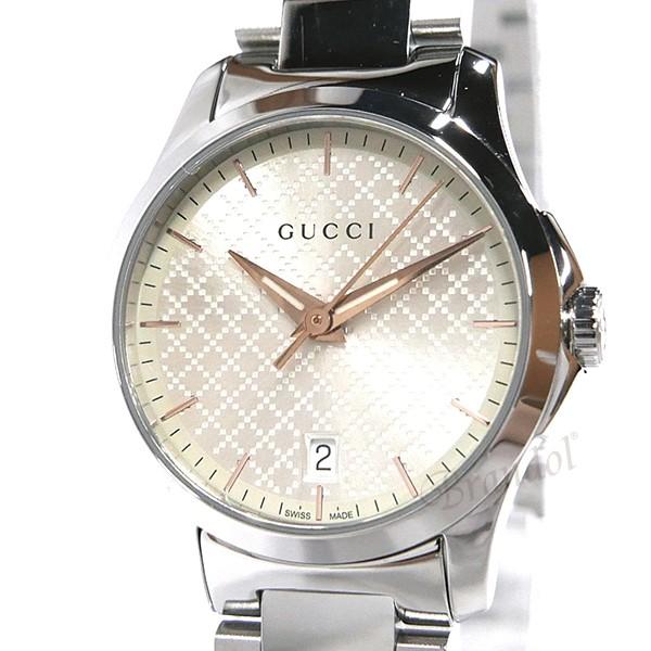 《800円offクーポン対象商品 5/26 23:59まで》グッチ レディース腕時計 Gタイムレス G-Timeless 28mm シルバー YA126593