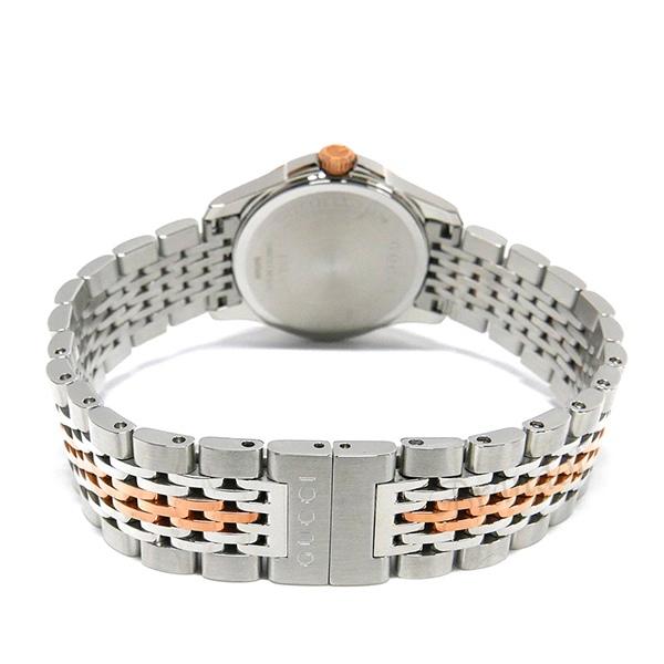 《3000円OFFクーポン対象》グッチ レディース腕時計 Gタイムレス G-Timeless 27mm ホワイトシェル×シルバー YA126539
