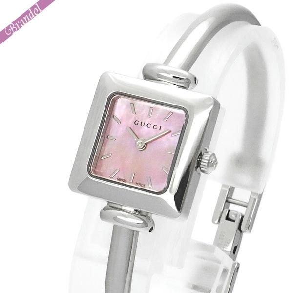 《1000円OFFクーポン対象!1/6 23:59まで》グッチ レディース腕時計 1900 20mm ピンクパール YA019519