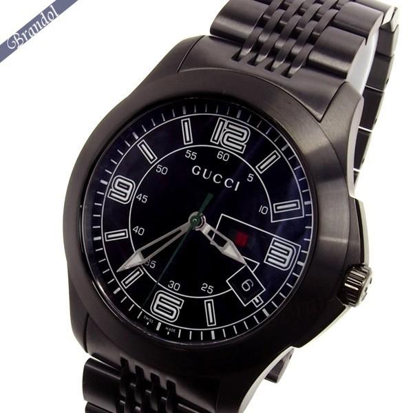 グッチ メンズ腕時計 Gタイムレス G-Timeless 44mm ブラック YA126202 【ブランド】
